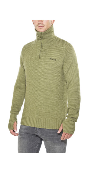 Bergans Ulriken Jumper Men Khaki Green Melange